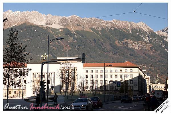 出門就看得見阿爾卑斯山