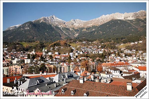 真的是阿爾卑斯山腳下的歡樂小鎮
