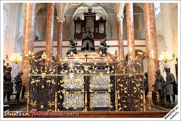 麥克西米里安大帝的空棺