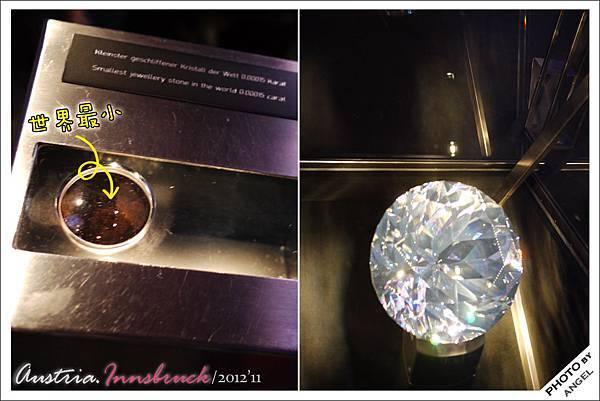 世界最小v.s世界最大的人工切割水晶