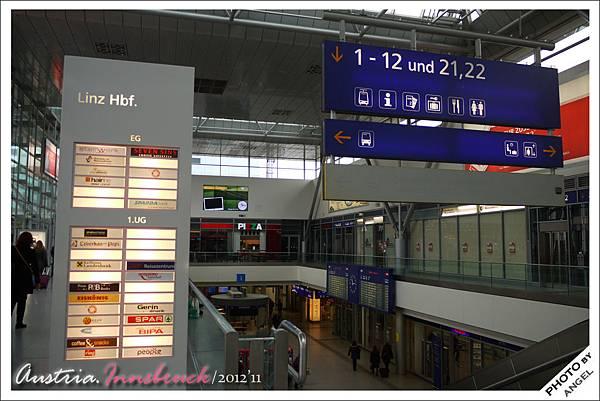 匆匆一瞥的LINZ火車站