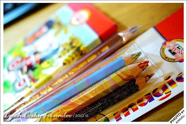 它們的鉛筆強調無毒,很適合小朋友使用