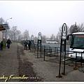好荒涼的巴士總站