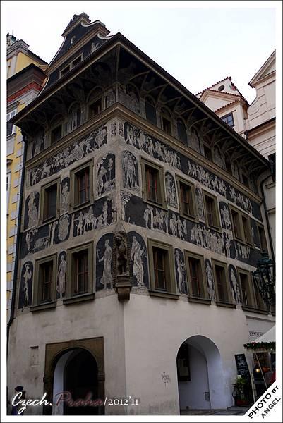 1889-1896卡夫卡一家人居住過的「一分鐘之屋」