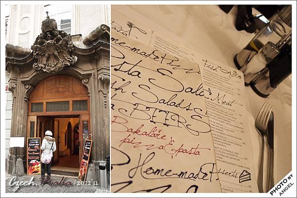 進了門才知道這家餐廳從原本傳統捷克料理轉型成義大利餐廳= =