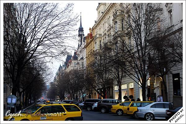 布拉格最時尚頂級的「巴黎大街」