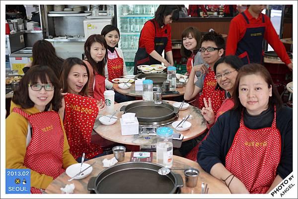 首爾第一餐---春川辣炒雞排
