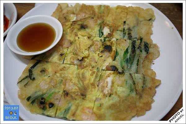 土俗村的海鮮煎餅