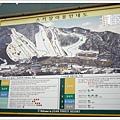 完全初學者的我們今天要挑戰的是最左邊的1-1滑雪道