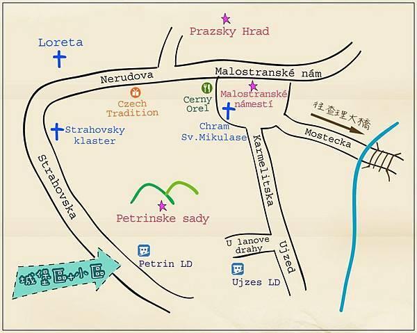 城堡區小區地圖