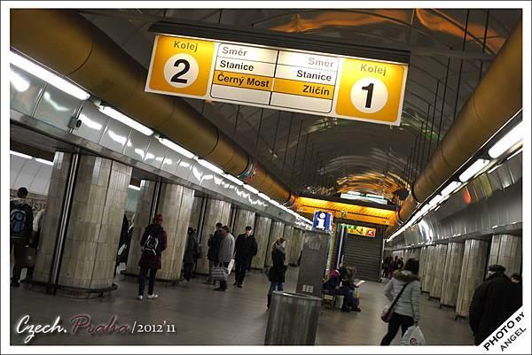 布拉格地鐵站