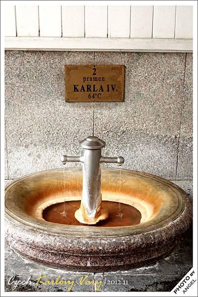 這就是查理四世首度發現有溫泉的地方