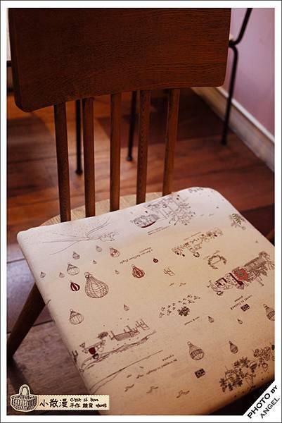 椅墊也是可愛到不行