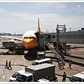 黃色的酷航飛機好可愛