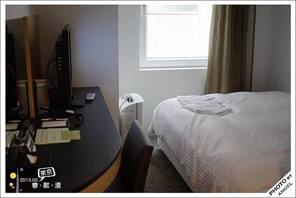 日本飯店房間的特色就是小