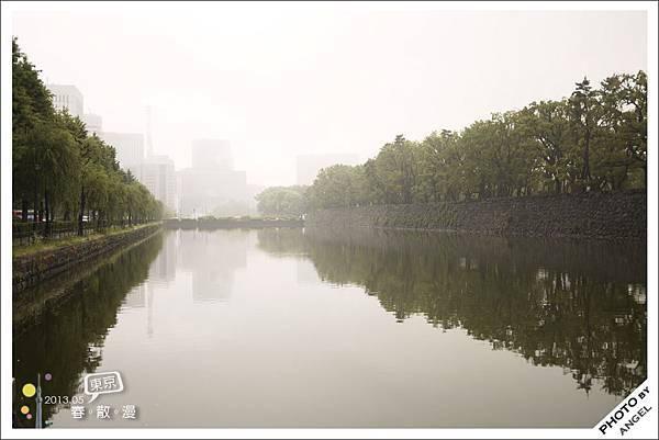皇居前的護城河