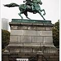 東京三大銅像之一---楠正成像