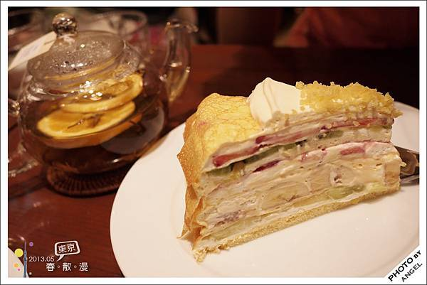 千層水果蛋糕