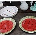西瓜盤好可愛