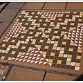 幾何圖案的「寄木細工」是箱根傳統的工藝品