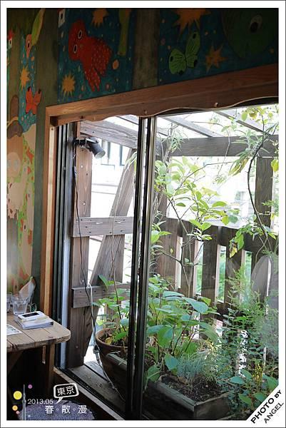 坐在這一大片窗戶旁吹著徐徐微風好舒服