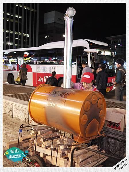 韓國人賣烤地瓜的機器也太可愛了.jpg