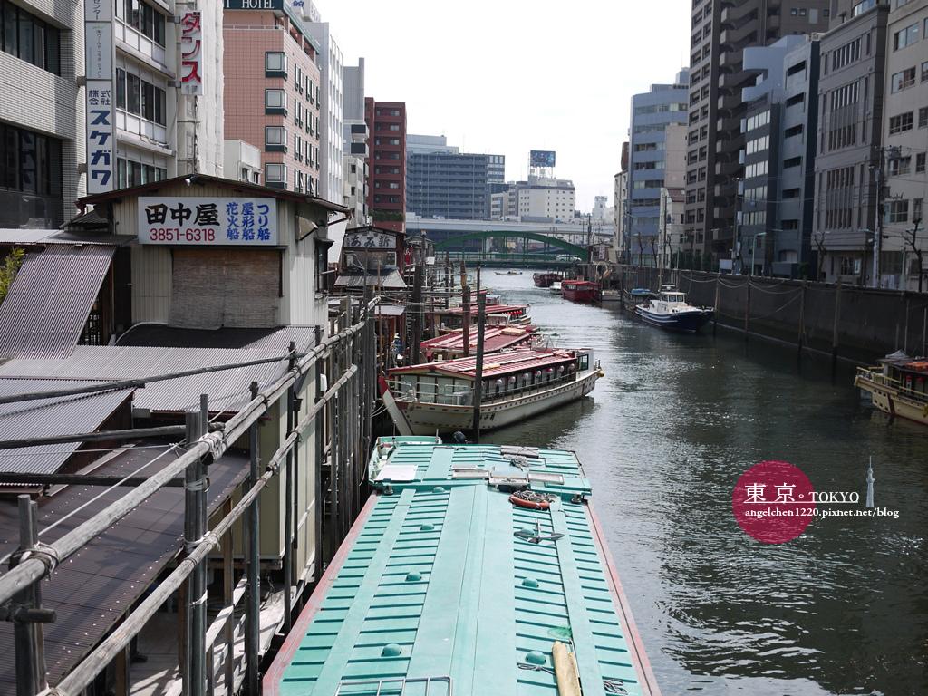 距離飯店不遠處的神田川似乎也是看花火的好去處.jpg