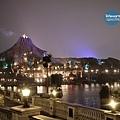 迪士尼海洋夜景-1