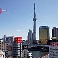 隅田川和晴空塔一覽無遺