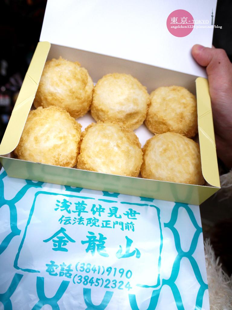 金龍山是專賣淺草餅的傳統老店