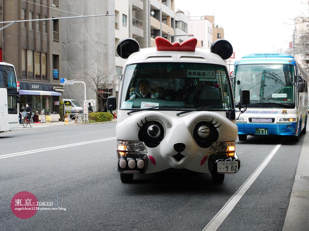 殷殷期盼的熊貓巴士終於來了