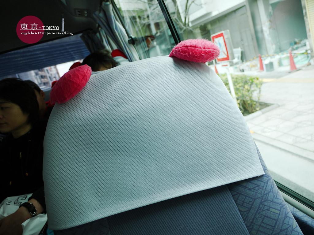 座椅套也有熊貓耳朵