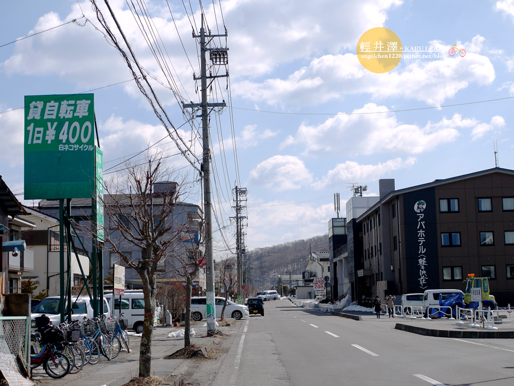飯店附近租腳踏車一天只要400日幣.jpg