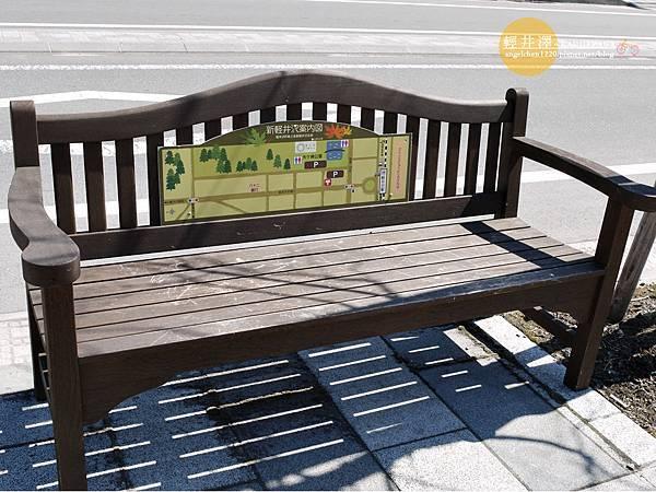 連椅子都不忘做觀光.jpg