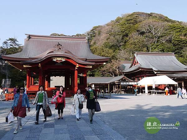 鎌倉的鶴岡八幡宮是日本三大八幡宮之一.jpg