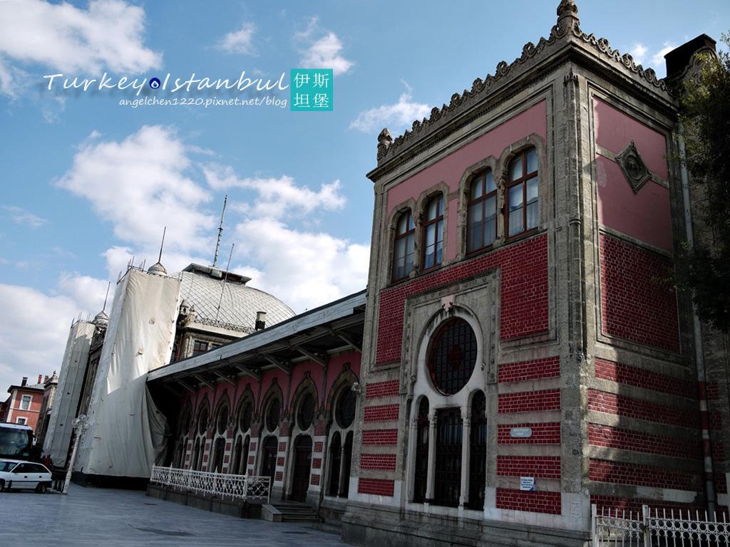 Sirkeci火車站是昔日東方快車的終點站.jpg