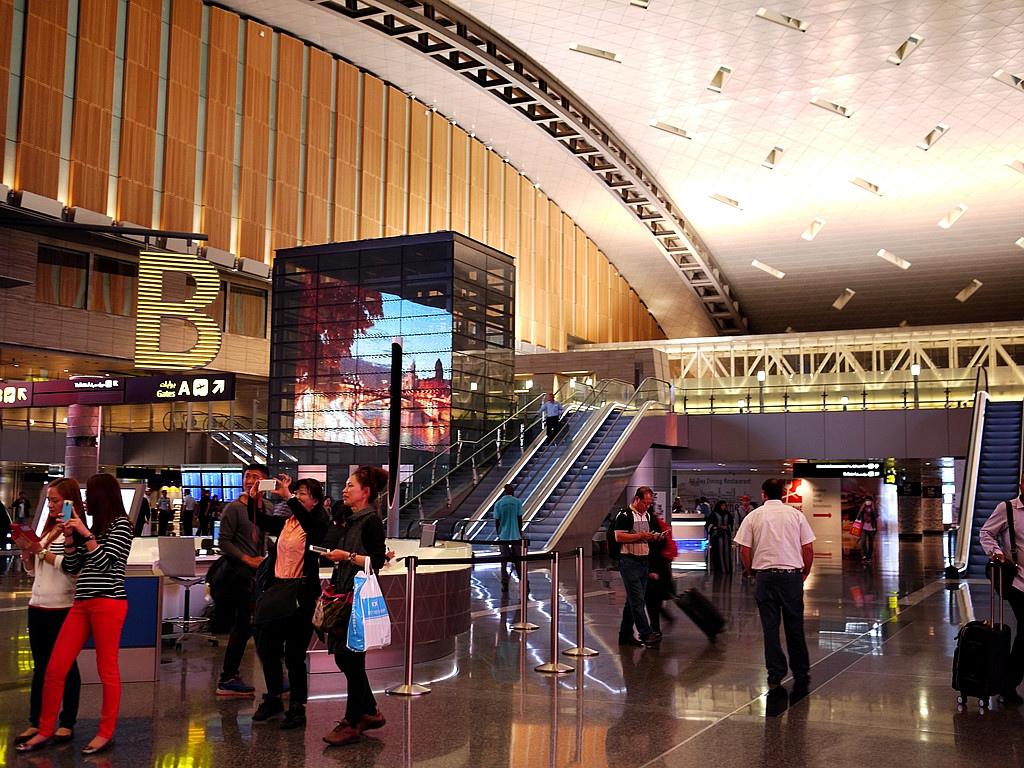比想像中高級的杜哈機場