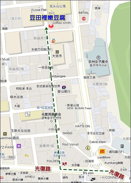 豆田裡MAP