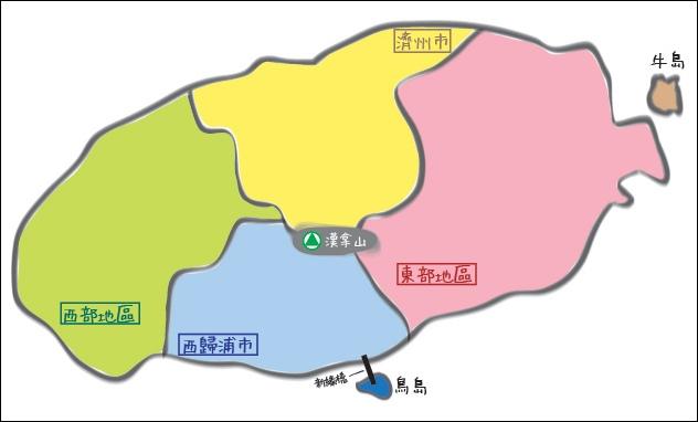 濟州地圖空白
