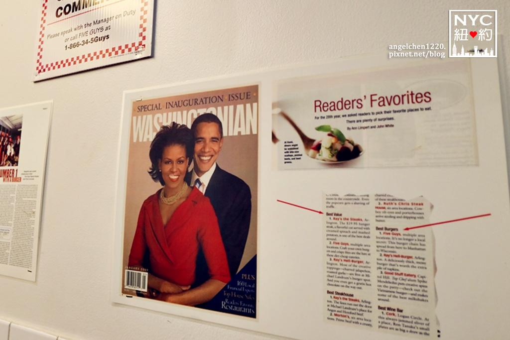 歐巴馬也愛5 guys