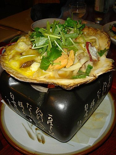 咖哩海鮮干貝