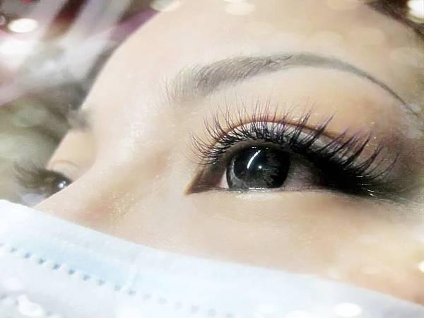 接睫毛作品-漸層紫200根