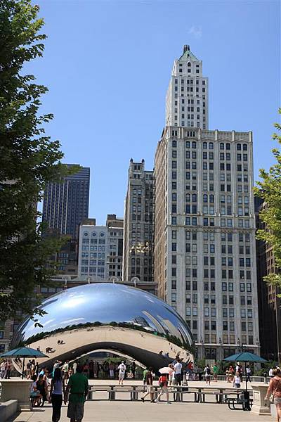 Millennium park _Cloud Gate 4.JPG