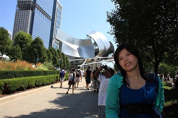 Millennium park _Jay Pritzker Music Pavilion..JPG