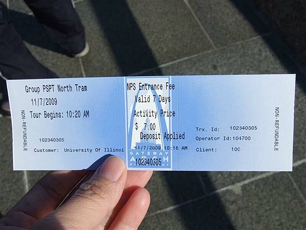Gateway Arch ticket.JPG