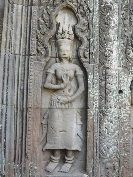 塔普倫寺的女神像