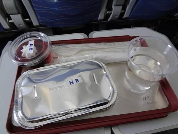 飛機餐, no beef 的!