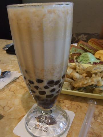 金薯QQ奶茶