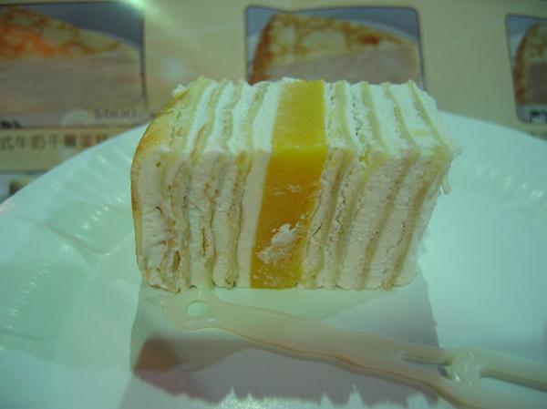 芒果奶凍千層蛋糕