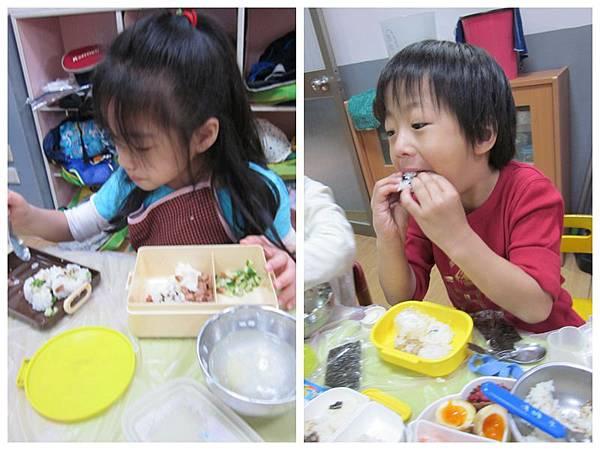 安君兒幼稚園日僑班櫻組食物diy